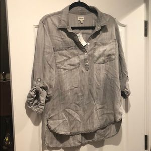 8922dda95 Sneak Peek Tops | Bell Sleeve Buttondown Shirt | Poshmark